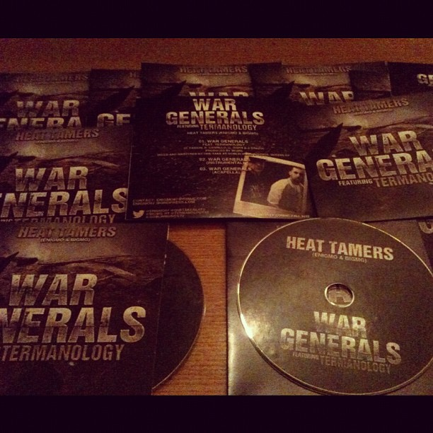 war generals single hard copies